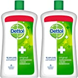 Dettol Original Liquid Soap Jar - 900 ml (Pack of 2)