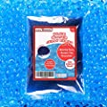 1 Pound Bag of Blue Water Gel Beads Pearls for Vase Filler, Candles, Wedding Centerpiece, Home Decoration, Plants, Toys, Education. Makes 12 Gallons. by Super Z Outlet by Super Z Outlet®