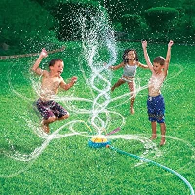 Unbranded New Banzai Geyser Blast Sprinkler Kids Water Fun Summer Outdoor Birthday Gift: Garden & Outdoor