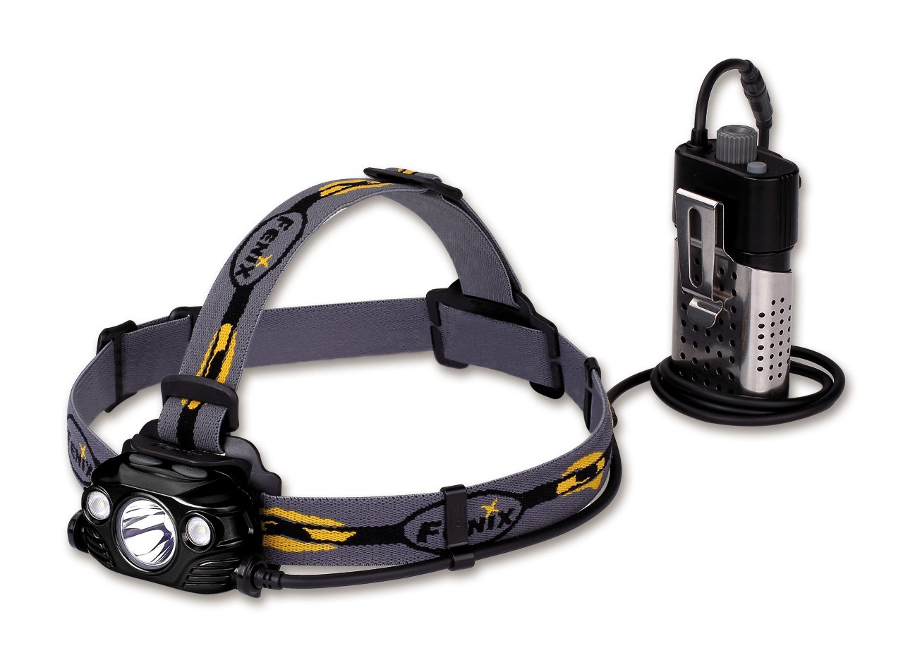 FENIX Herren HP30R Stirnlampe, schwarz, One Größe