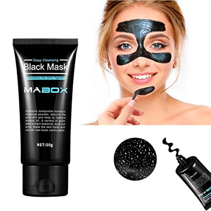 Espinillas máscaras ,Mabox mascarilla, removedor de la espinilla de la máscara de barro Negro