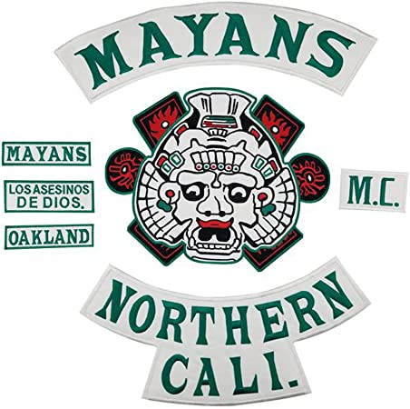 Mayans Mc Sons Of Anarchy Sew On Patch 100 Identical To Originals Auto