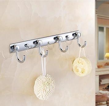 Longless la pared perchero, ganchos colgadores, toalla ropa gancho, para cocina baño dormitorio gancho: Amazon.es: Hogar
