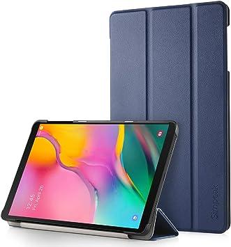 Simpeak Funda Compatible con Samsung Galaxy Tab A 10.1 (2019) SM-T515[5 años de garantía], Fundas Compatible con Galaxy Tab A 10.1 (2019) SM-T515 Protector de Cubierta 10.1 Pulgadas, Azul: Amazon.es: Electrónica