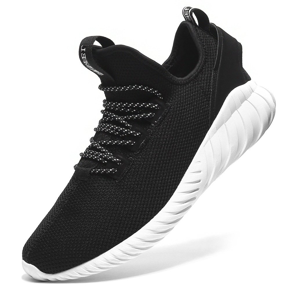 Camel Womens Casual Shoes Fashion Sneaker Lightweight Trail Running Walking Shoes for Women Shockproof Breathable Mesh Sport Athletic Sneaker 8US 39 Black