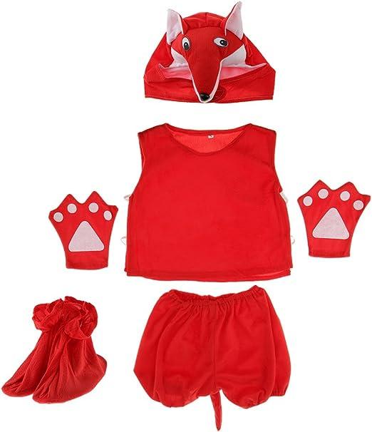 Prettyia Conjunto de disfraz de jirafa para niños, diseño de rana ...
