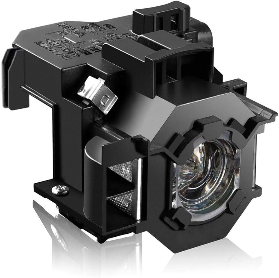 Loutoc V13H010L41 Lámpara Proyector para Epson ELPLP41 PowerLite ...