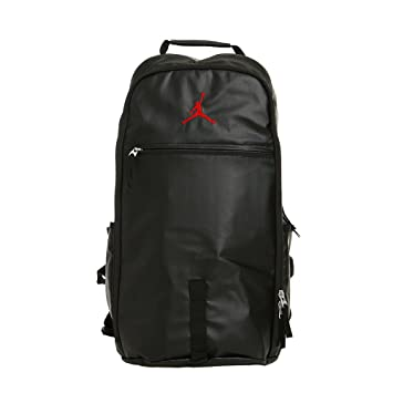 fed019b493d Nike Air Jordan Jumpman Black Red Bred Backpack BP Bag BA8051-010: Amazon.in:  Bags, Wallets & Luggage