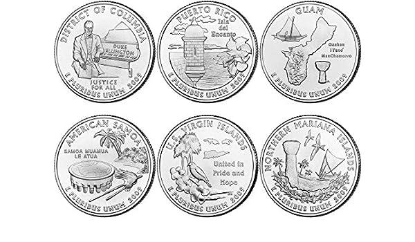 Uncirculated BU 2009 American Samoa D Territory Quarter