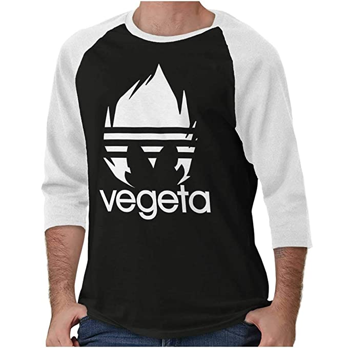 Amazon.com: Cool Vegeta - Camiseta de manga 3/4 para atleta ...