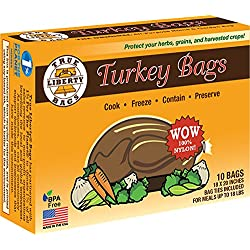 True Liberty Bags Turkey 10 Pack, All Purpose Home and Garden Bags