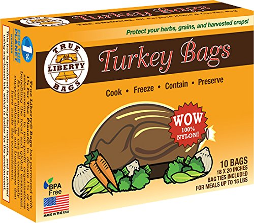 Active Air True Liberty Bags - Turkey 10 Pack - All Purpose Home and Garden Bags