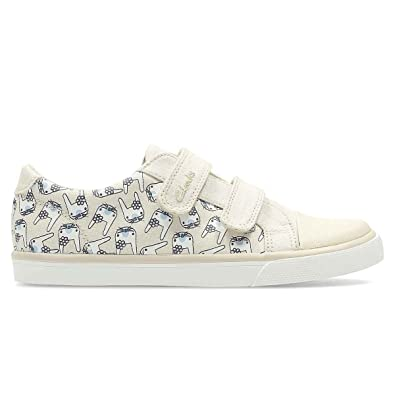 2be01746fdc Clarks 2453-97G Gracie PIP INF Cotton Kids Trainers  Amazon.co.uk  Shoes    Bags