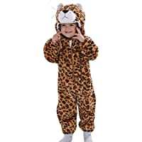 Doladola Unisex Baby Hoodies Onesie Cartoon Animal Romper Pyjama
