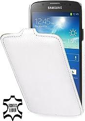 StilGut, UltraSlim, pochette exclusive pour le Samsung Galaxy S4 Active i9295, en blanc