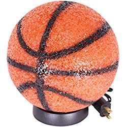 Basketball Lamp Sparkles Perfect Sports Night Light For Boys Room