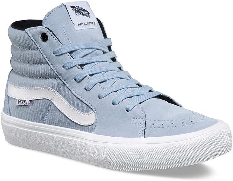 86a97cf1fa92ee Vans Sk8-Hi Pro (Blue Fog) Men s Skate Shoes-9.5