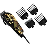 Surker® JM-808 Hair Trimmer For Pets with 4 Replacable Combs