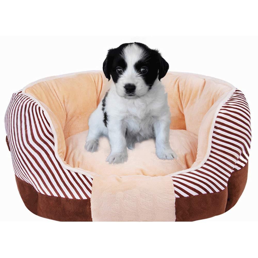 MIAOLIDP Cuccia per per per Animali a Nido d'Ape, Nido Caldo, Cuccia per Gatti, Autunno e Inverno Prodotti per Animali (colore   Marronee, Dimensioni   55  60cm) 583bb2