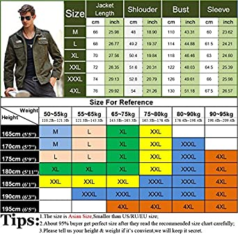 Amazon.com: NEW Tactical Military Jacket Men Mens Denim Army Bomber Jacket Windbreaker Waterproof Autumn Militar Style Coat Male.DA41: Clothing