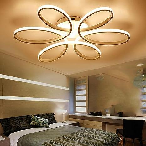 Lámpara de techo LED para iluminación cálida, romántica y ...