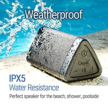 Oontz Angle 3 Portable Bluetooth Speaker : Louder Volume 10w Power, More Bass, Ipx5 Water Resistant, Perfect Wireless Speaker For Home Travel Beach Shower Splashproof, By Cambridge Soundworks (Black) 2
