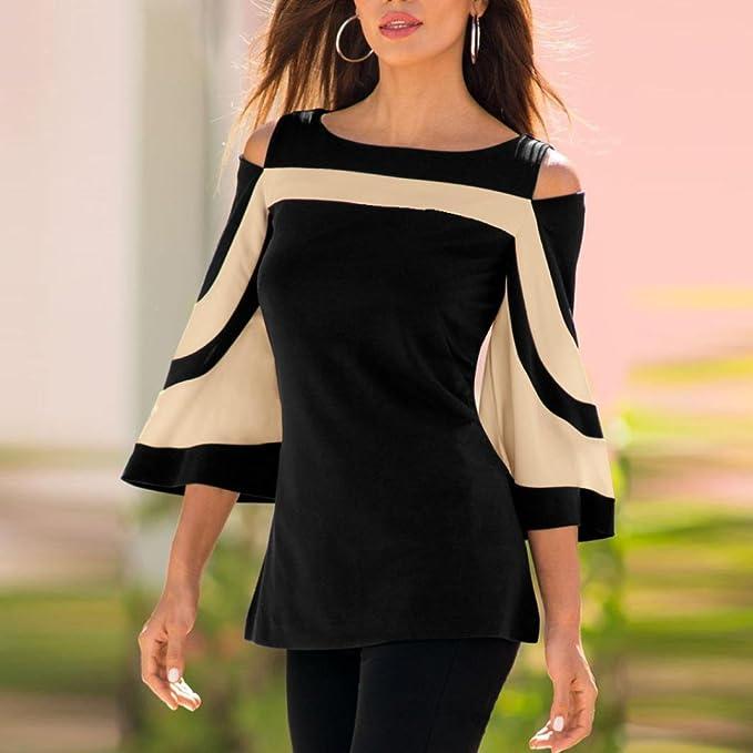 Camisetas sin Mangas Mujer, Covermason Sudadera con Capucha para Mujer(38, Negro): Amazon.es: Ropa y accesorios