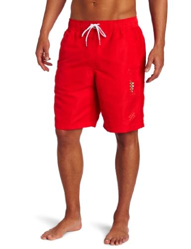 - PUMA Men's Ferrari Board Shorts, Rosso Corsa, X-Large