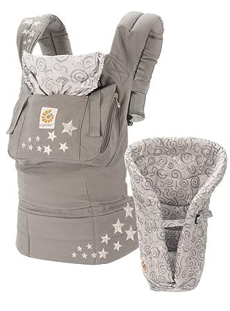 Ergobaby Original Bundle Of Joy Carrier And Infant Insert Galaxy Grey