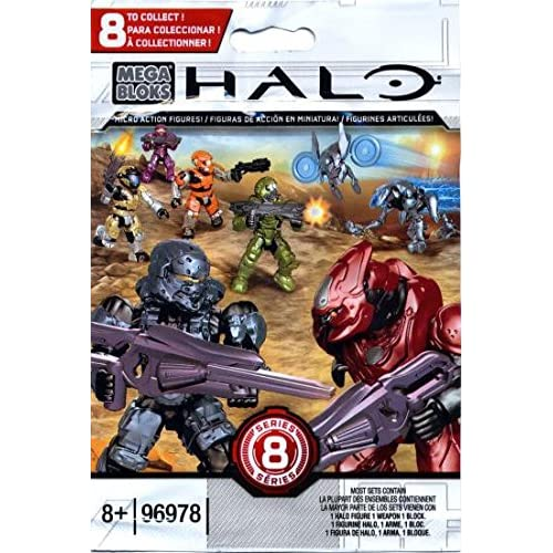 hot sale Halo Mega Bloks Series 8 Micro Action Figure Blind
