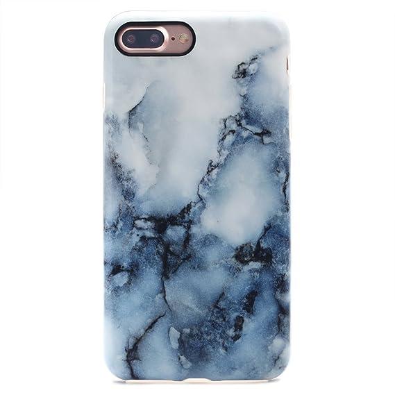 6374f69c2b GOLINK iPhone 7 Plus Case/iPhone 8 Plus Marble Case, Matte Marble Series  Slim