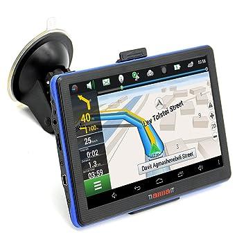GPS para Coche 7 Pulgadas Pantalla Táctil con FM 256MB/8GB Actualización Gratis de Mapa