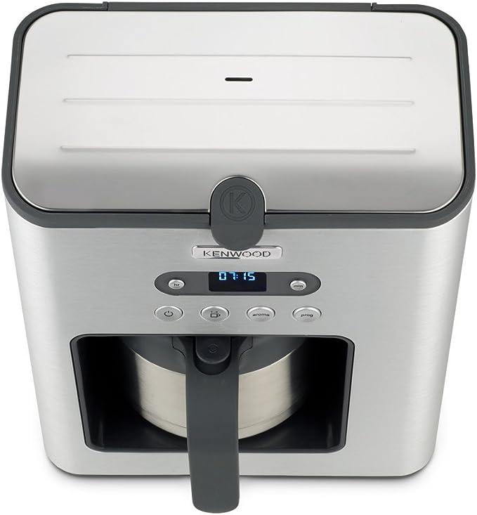 Kenwood Electronics CMM620 Independiente Semi-automática - Cafetera (Independiente, Cafetera de filtro, 1,25 L, De café molido, 1200 W, Acero inoxidable): Amazon.es: Hogar