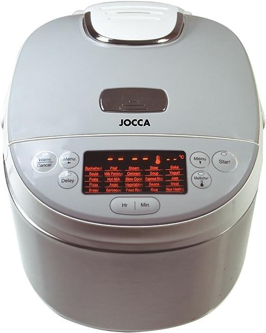 Jocca 5527 Robot de cocina, 4 l, color blanco, Aluminio: Amazon.es ...
