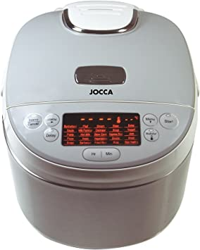 Jocca 5527 Robot de cocina, 4 l, color blanco, Aluminio: Amazon.es ...