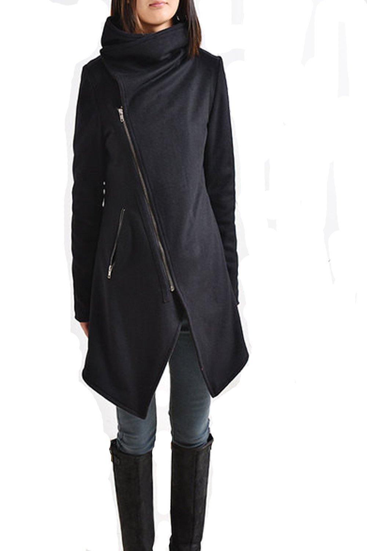 Women's Cashmere Wool Jacket Black