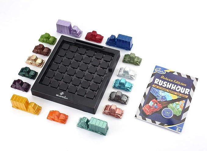Funny Rush Hour Traffic Jam Game Thinkfun Piezas de Repuesto Piezas Repuestos Multicolor Mezclado: Amazon.es: Electrónica
