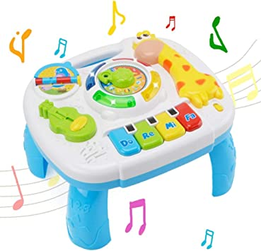 Mesa De Actividades Musicales bebé Juguete - WISHTIME Laugh ...