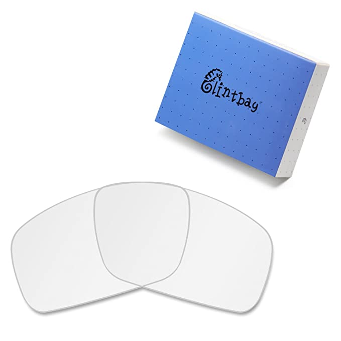 a431d71fab Glintbay 100% Precise-Fit Replacement Sunglass Lenses for Costa Del Mar  Fantail - Crystal