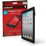 Apple iPad 2 / 3 / 4 (2nd / 3rd / 4th Generation, 2011-2012) Screen Protector, MediaDevil Magicscreen Matte Clear (Anti-Glare) Edition - (2 x Protectors)