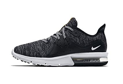 Nike Women's Air Max Sequent 3 Running Shoes (11 M US, BlackWhite dark Grey)