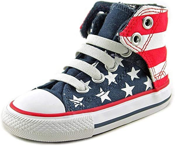 Converse Infants Chuck Taylor Easy Slip On RedWhiteBlue 722366F
