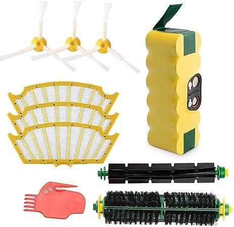 Filtro//Pennello//KIT per iRobot Roomba Serie 500 510 530 535 540 550 560 parti