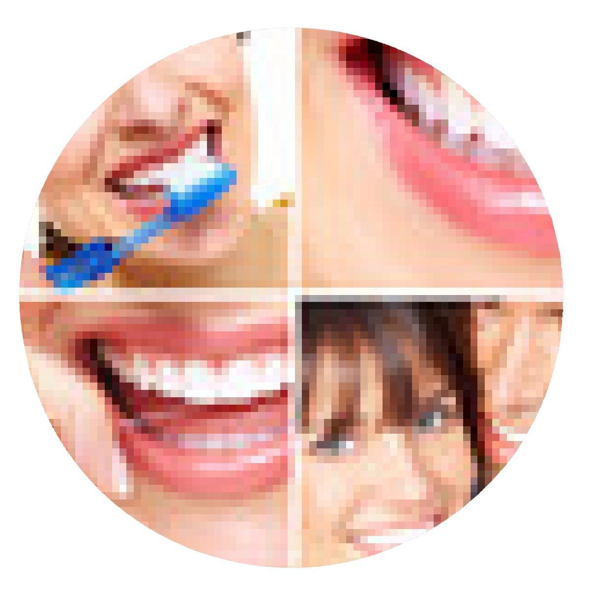 alfombrilla de ratón Los dientes con el cepillo de dientes.: Amazon.es: Electrónica