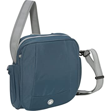 ba1f33d88 Pacsafe MetroSafe 200 Anti-Theft Shoulder Bag (Moroccan Blue): Amazon.co.uk:  Sports & Outdoors