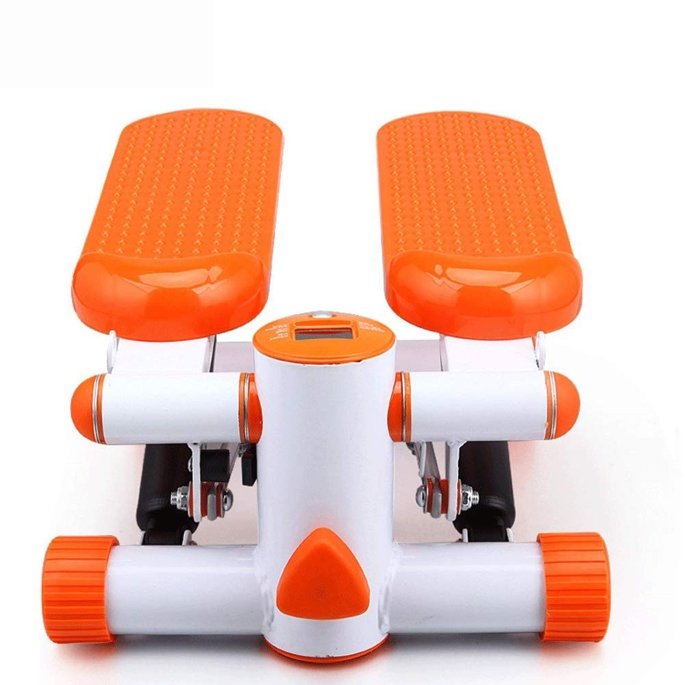 Steppers,Aerobic Fitness Exercise Machine,Mini Stepper Adjustable Air Stepper Twist Stepper with Hydraulic Resistance Fitness Exercise Machine (Color : Orange, Size : Casual Size) by Tabuji (Image #5)