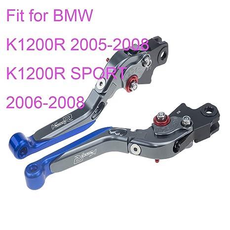 CNC Palancas de embrague de freno extensibles plegables para BMW K1200S 2004 2005 2006 2007 2008