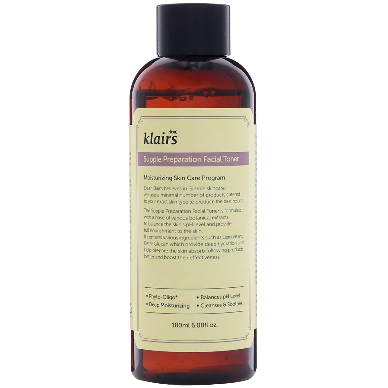 Klairs Supple Preparation Facial Toner, 180 ml