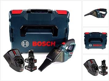 Bosch Gas 12 V PROFESSIONAL batería Aspiradora solo en L-Boxx + 2 x GBA 12 V 6 Ah Batería + 1 x Gal 1230 Cargador: Amazon.es: Bricolaje y herramientas