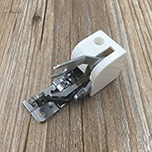 Zerorun 1pcs Universal Side Cutter Overlock Presser Foot Sewing Machine